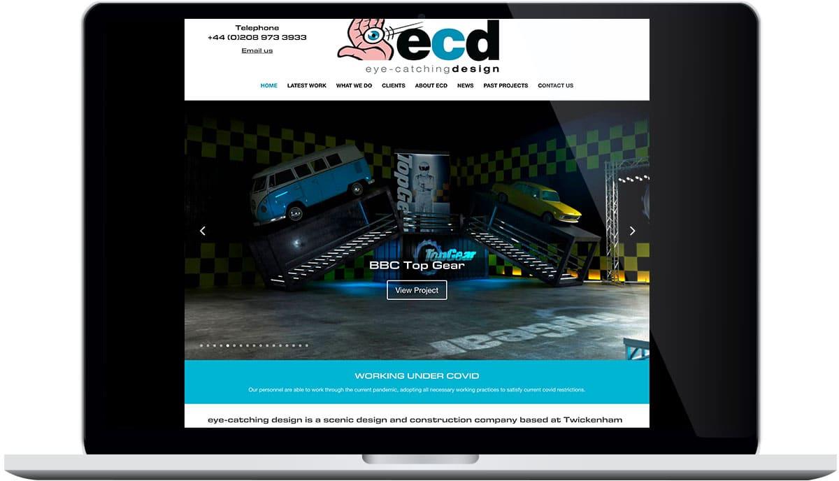 Tigerpink Design - Eye Catching Design - Laptop