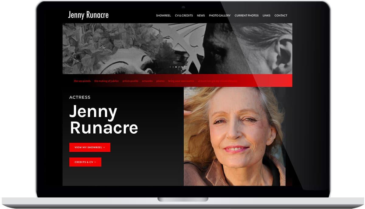 Tigerpink Design - Jenny Runacre - Laptop