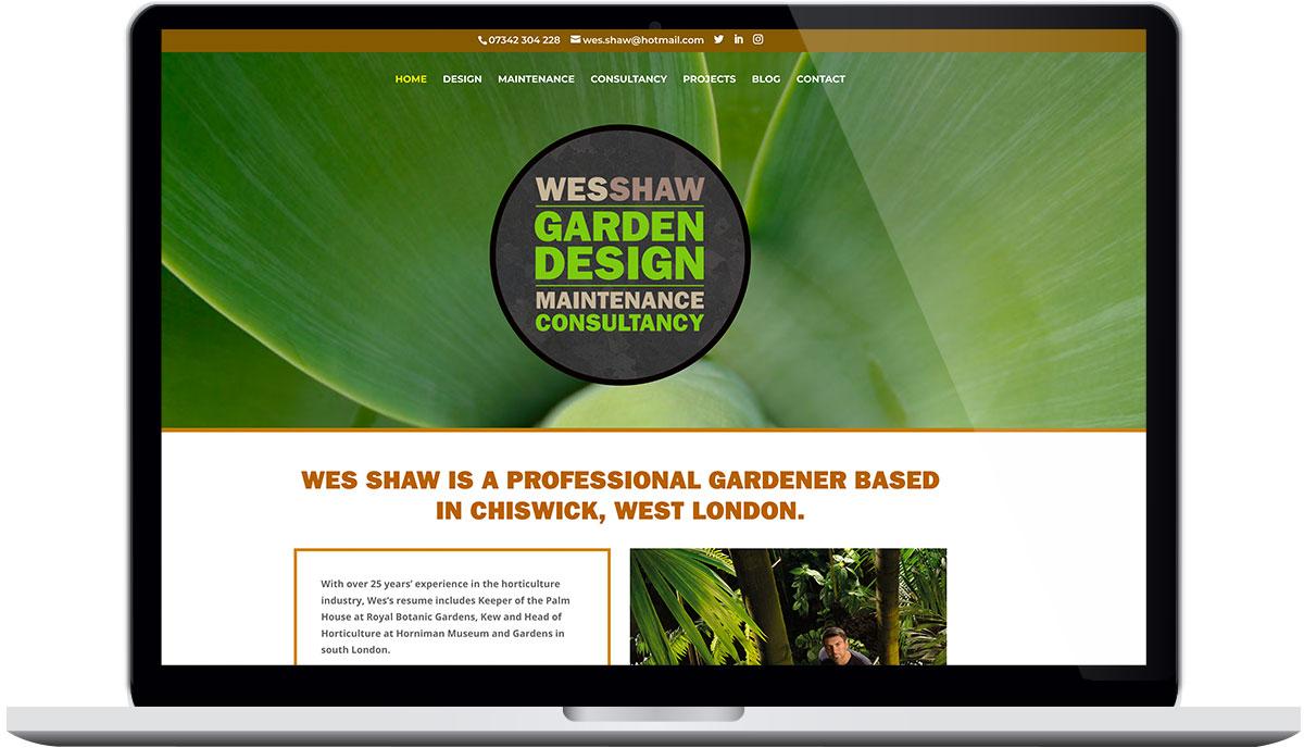 Tigerpink Design - Wes Shaw - Laptop
