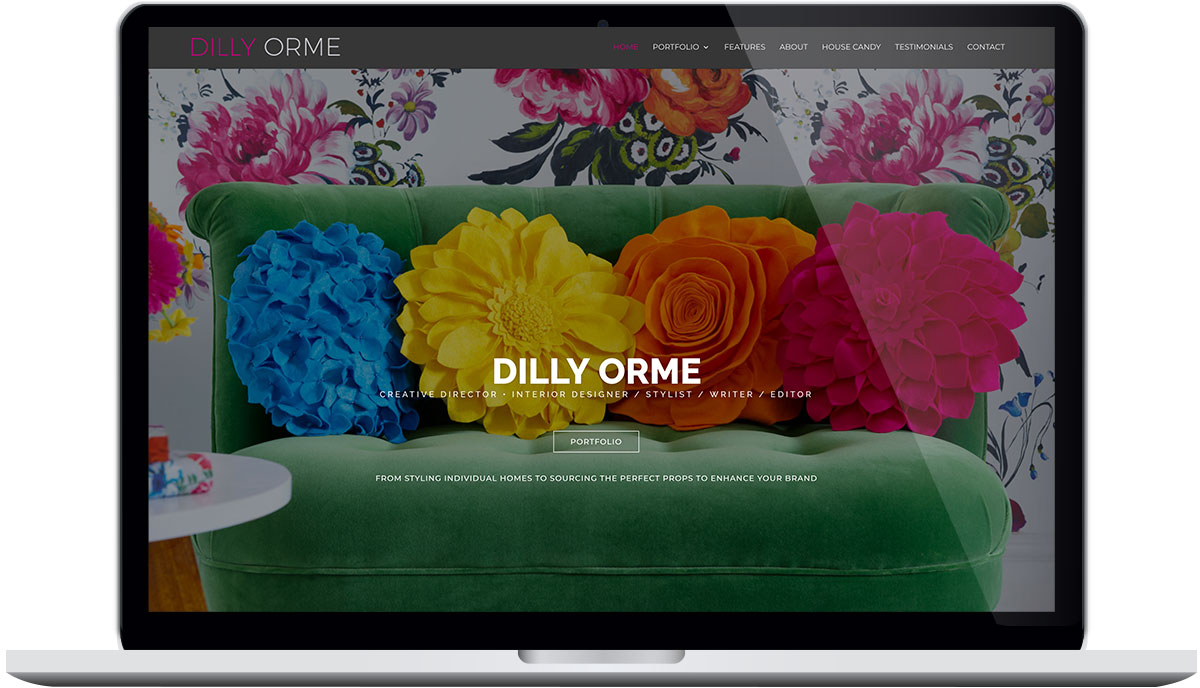Tigerpink Design - Dilly Orme - Laptop