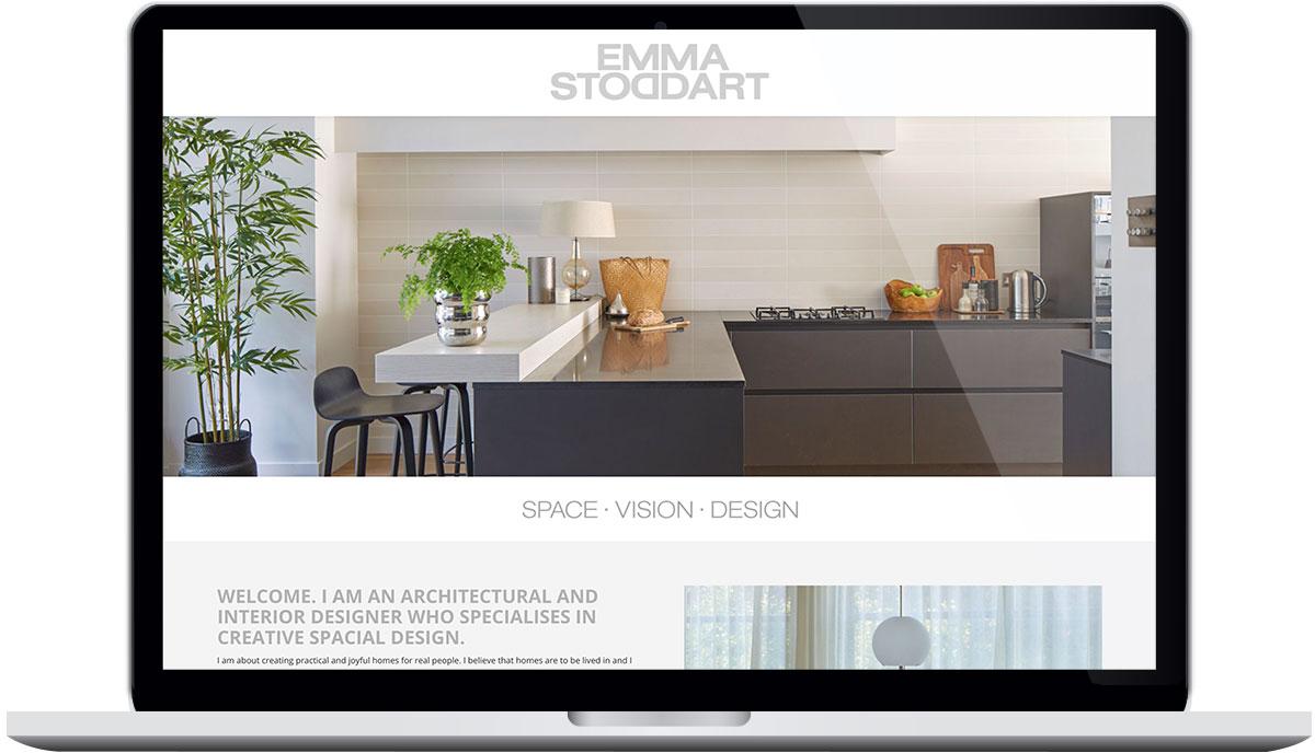 Tigerpink Design - Emma Stoddart - Laptop